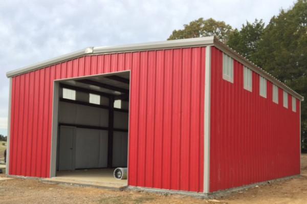 Prefabricated Garage