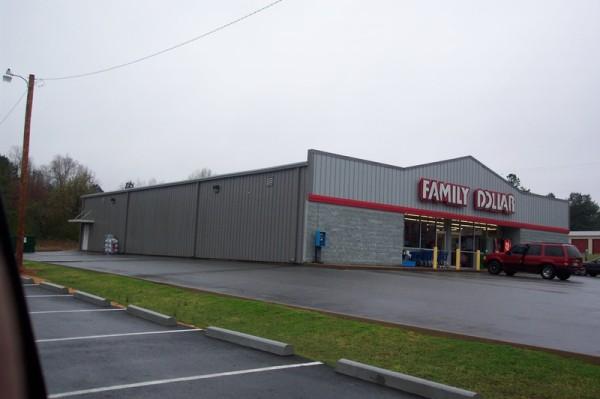 Metal Retail Building