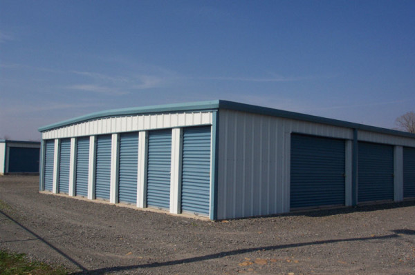 self storage buildings by Encore Steel