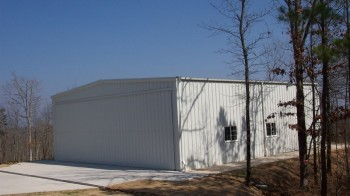 Steel Aircraft Hanger