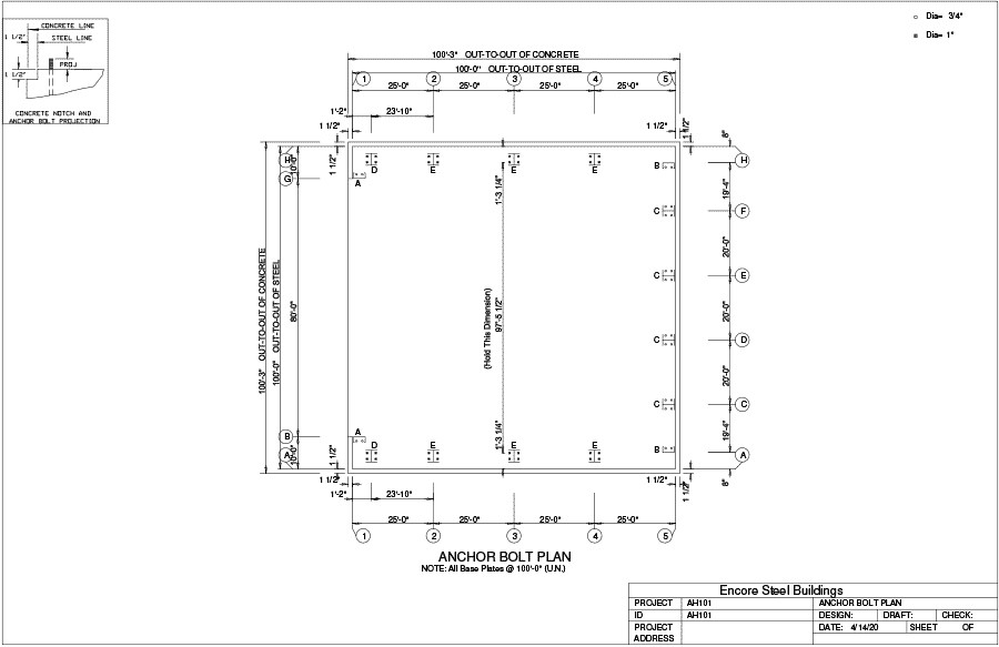 airplane_hangar-100x100x20-AH101-anchor-bolt-plan