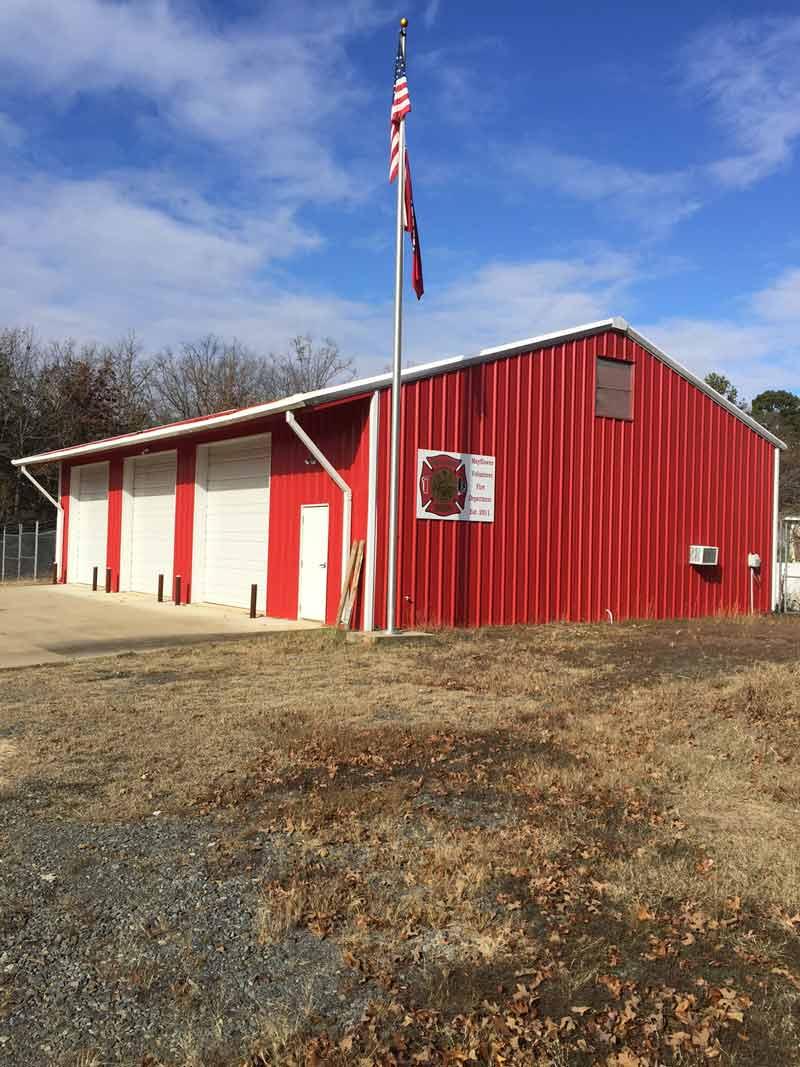Metal Building Kit for Arkansas Fire Department