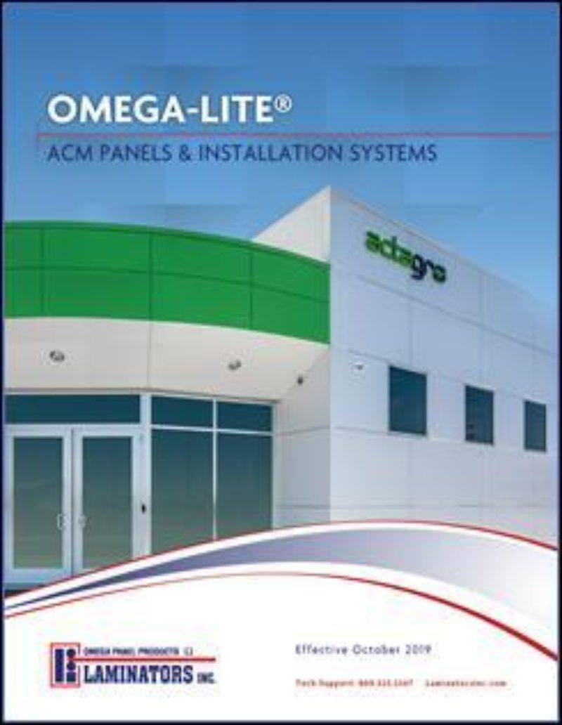 Laminators publishes Omega-Lite ACM brochure