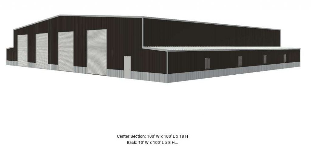 100x100x18-warehouse-metal-building-kit